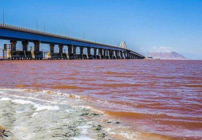 کاهش ۵۵ درصدی بارش در حوضه آبریز دریاچه ارومیه