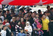 مهلت ۴ هفته ای ترکیه به پناهجویان سوری برای خروج از استانبول