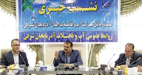 طرح رینگ آبرسانی تبریز به بهره برداری می رسد