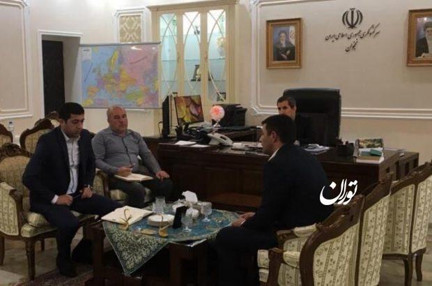 گسترش همکاری فعالان اقتصادی ایران و نخجوان بررسی شد